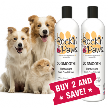 Rockin' Paws So Smooth Coat Conditioner (Package Size: Buy Two Bottles and Save!)