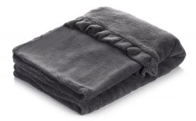 Snuggle Dog Bed (Color: Gray)