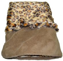 Snuggle Dog Bed (Color: Leopard)