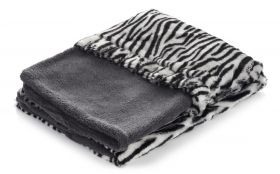 Snuggle Dog Bed (Color: Zebra)