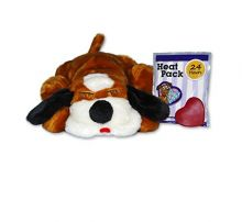 Snuggle Puppy Calming Companion (Color: Brown / White)