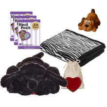 New Puppy Snuggle Starter Kit (Color: Black)