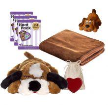 New Puppy Snuggle Starter Kit (Color: Brown / White)