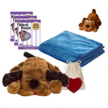 New Puppy Snuggle Starter Kit (Color: Brown)